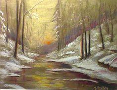 Artwork >> Breton Michel >> la river of hedgehog