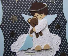 angel with bear