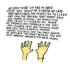 ...and Sunrise washed our hate away #DallasClayton
