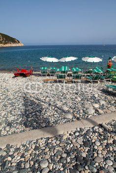Beach At Marciana Marina