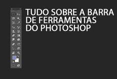 """O Adobe Photoshop oferece diversos recursos para a edição de imagens e a base para cada ação está na """"Barra de Ferramentas"""". Conheça melhor cada item para utilizar os comandos básicos. As ferramentas podem ser acessadas pela barra lateral ou, ..."""