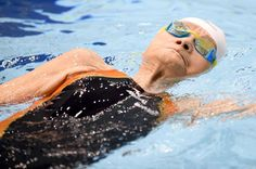 Then-101-year-old Mieko Nagaoka competed in the women's 400m freestyle during the July 2016 Japan Ma... - Getty