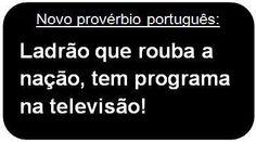 novo provérbio português