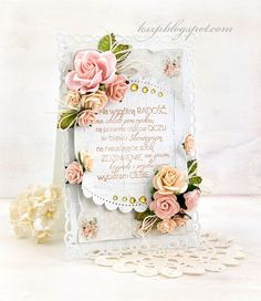 Wild Orchid Crafts: Wedding card