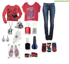 Spiderman outfit Brandy Ketron designed