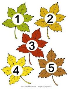 Igraem 4 - Aleiga V. Autumn Leaves Craft, Autumn Crafts, Fall Crafts For Kids, Learning Numbers Preschool, Fall Preschool, Bug Crafts, Leaf Crafts, Autumn Activities, Preschool Activities