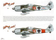 Fw 190 A8 5/II/JG300 Unteroffizer Ernst Schröeder October-November 1944