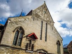 Beguinage Church in Tongeren, Belgium