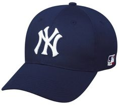 MLB ADULT New York YANKEES Home Navy Blue Hat Cap Adjustable Velcro TWILL Team MLB - Authentic Sports Shop << Grrrr this ones out of stock. It's so beautiful!!!