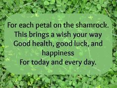 irish pics and sayings | Irish Blessings and Good Luck Sayings - Pretty Opinionated