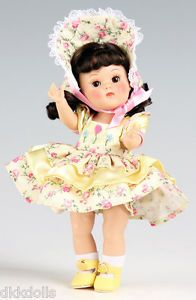 Offered for sale in a 10 day Ebay auction. Vogue-Brunette-Thinking-of-You-Ginny-Vintage-Reproduction-Doll-with-Card-2010