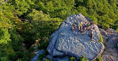 Take the trail to the tip top of this famous rock with friends for epic views surrounding Pine Mountain for the perfect #wanderlust experience. ⛓⛰☀️ #kystateparks