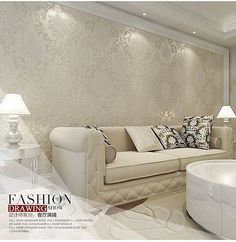Bedroom-Drawing-Room-Decor-10M-Embossed-Damask-Feature-Non-woven-Wallpaper-Roll