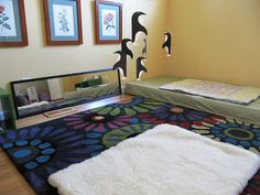 """""""movement mat"""" with mobile and mirror by brite_lines, via Flickr"""