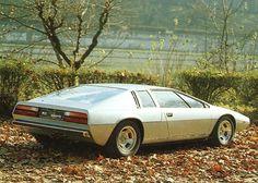 Giugiaro's awesome original concept for the Lotus Esprit