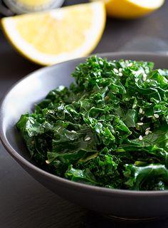 Citrus Sesame Kale