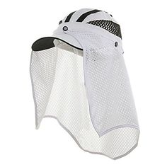 Talson UV Flap Cap - White * Want to know more, click on the image.