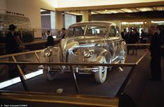 Sensation: Billed as a vision of the future, the car was made for the 1939-40 New York World's Fair in San Francisco, pictured here
