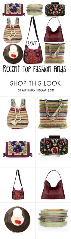 """Recent Top Fashion Finds"" by maggie-johnston ❤ liked on Polyvore featuring Billabong, NOVICA, Tory Burch, Alice + Olivia, Namaste, Aspinal of London, Sophie Anderson and Chico's"