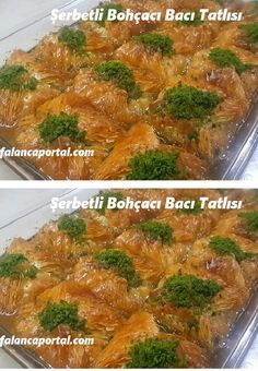 Baklava Cheesecake, Turkish Delight, Turkish Recipes, Natural Medicine, Green Beans, Waffles, Deserts, Food And Drink, Sweets