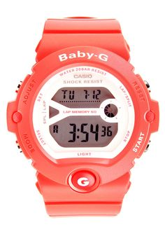 Baby G watch in pink by Casio. http://zocko.it/LD4MO