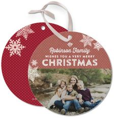 Christmas Ornament Holiday Card