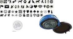 3 cm Ø colop stamp #mouse r 30 round - indigo case #geocaching 50 #motive,  View more on the LINK: http://www.zeppy.io/product/gb/2/182386722337/