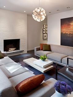 Society Hill Townhouse - modern - living room - philadelphia - k YODER design, LLC