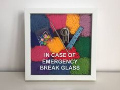 Urgence au crochet Crochet Art cadeau pour tricoteuse