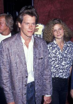 Kevin Bacon & Kyra Sedgwick, 1987