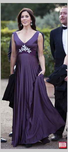 The Danish Crown Princess Mary.