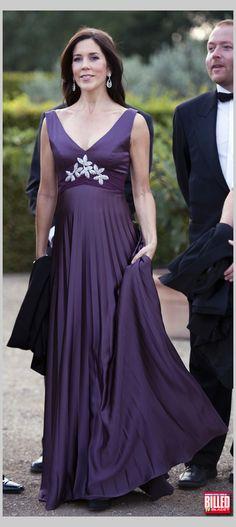 The Danish Crown Princess Mary.