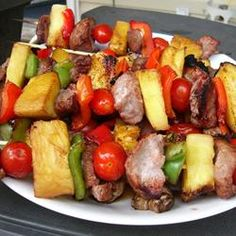 """Sensational Sirloin Kabobs 