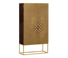3D geometric cabinet. Bringing the Old World technique of marquetry into a modern design, this 3D geometric cabinet was hand crafted with 35,420 pieces of veneer to present an optical illusion that the front doors protrude beyond their surface. #jonathancharles #jonathan_charles_russia #jonathancharlesrussia #jonathancharlesfurniture