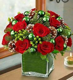 Arrajos de Rosas Vermelhas