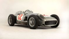 Juan Manuel Fangio's 1954 Mercedes W196 sold for an astonishing £19,600,000 ($29,600,000) at Bonham's auction in London.