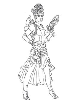 cool medium difficulty coloring pages - photo#48