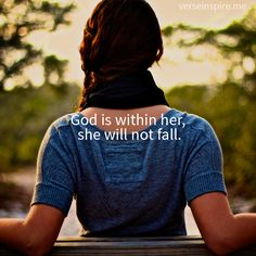 I won't fall--HE will catch me with His everlasting arms.   JO / mwordsandthechristianwoman.com