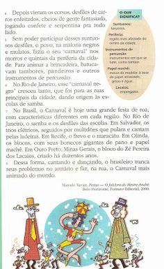 LINGUAGEM E AFINS: Carnaval - texto e interpretação- 17/01/11