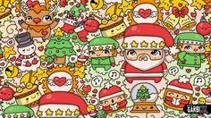 Merry Christmas - #Kawaii Graffiti and Cute Doodles by Garbi KW