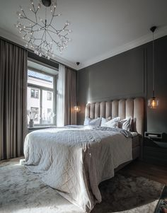 Bedroom Inspo, Home Decor Bedroom, Bedroom Curtains, House Of Philia, Room Interior, Interior Design, Home Decoracion, Home Office Design, Dream Bedroom