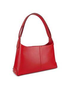 6913baf8dd35 Fontanelli Classy Red Italian Leather Handbag