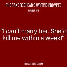 136 – The Fake Redhead Writes
