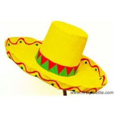Get into the spirit of Cinco De Mayo by making your own Sombrero. 8a5e853ce60