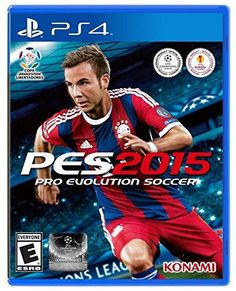 Pro Evolution Soccer 2015 PS4 Physical Game Disc US