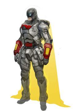 Superhero Characters, Comic Book Characters, Comic Character, Fantasy Characters, Character Concept, Comic Books, Space Ghost, Armor Concept, Concept Art
