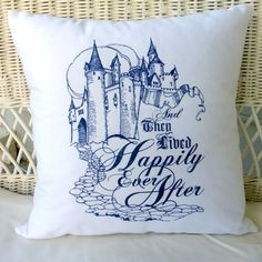 Wedding Pillow  pillow covers  decorative by JulieButlerCreations