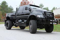 "Ford F650 Super Truck. I WANT as my ""fun"" Vehicle"