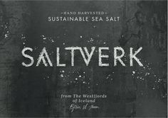 Saltverk — INTERNATIONAL TASTE
