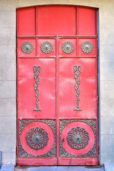 Fantastic looking door. Yerevan, Armenia